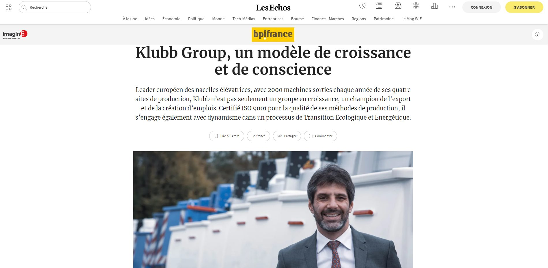Label RSE Positive Workplace - interview Klubb
