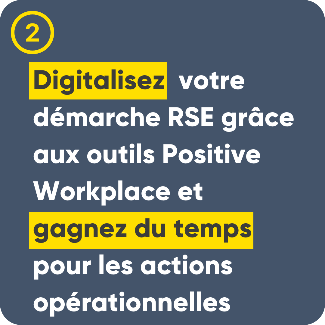Avantages - Positive Workplace - Positive Workplace le label RSE Made In France